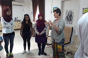 Rashidieh Center - Kg teachers participated in the music  training workshop with the friend Dobera