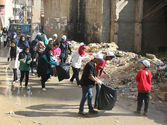 Cleaning Campaign - UNDP